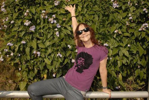 Helena Ignez, cineasta, atriz e professora. Local Morro da Cruz. Florianópolis, 240810 Foto Susi Padilha Edit. Variedades Repórter Felipe